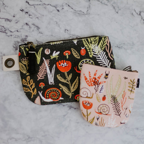 Bugs & Botanical Pouch