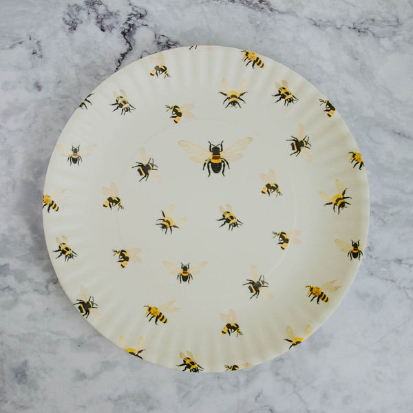 Large Bee Plate