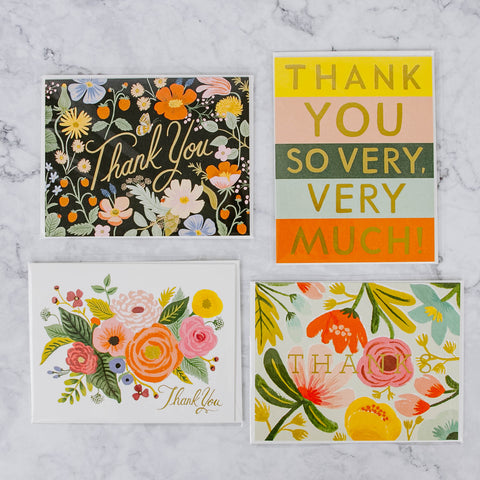 Rifle Paper Co Thank You Card