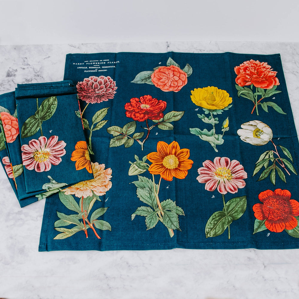 Load image into Gallery viewer, Vintage-Inspired Cloth Napkin Set