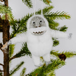 Felted Abominable Snowman Ornament
