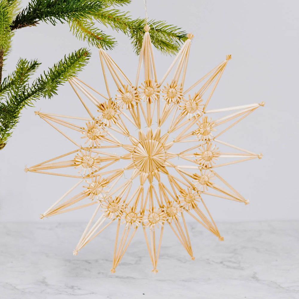 Large Straw Ornament