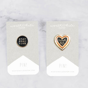 Statement Enamel Pin