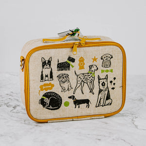Linen Lunch Box