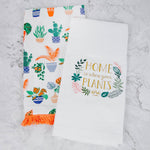 House Plant Tea Towels