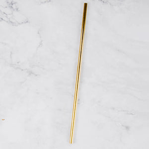 Load image into Gallery viewer, Dark Gold Reusable Straw