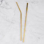 Dark Gold Reusable Straw