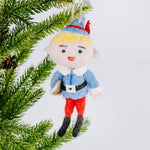 Felted Hermey The Elf Ornament