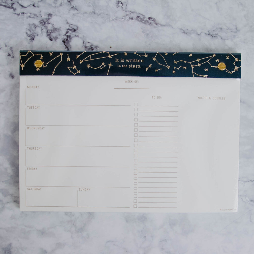 Constellations Weekly Planner
