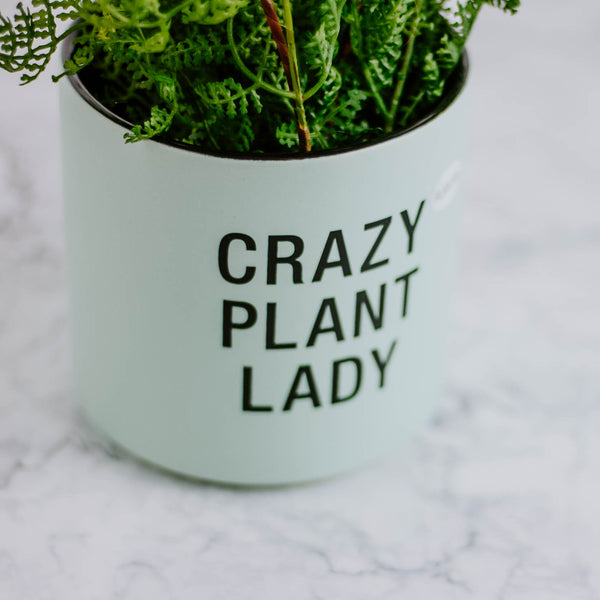 Crazy Plant Lady Planter