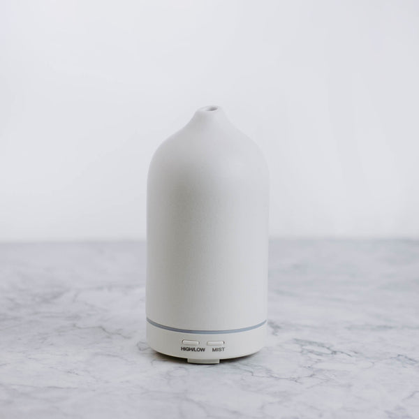 White Ceramic Essential Oil Diffuser