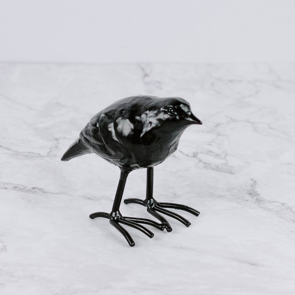 Load image into Gallery viewer, Cast Iron Raven