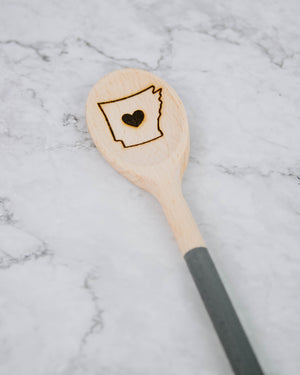 Load image into Gallery viewer, Arkansas Wooden Spoon