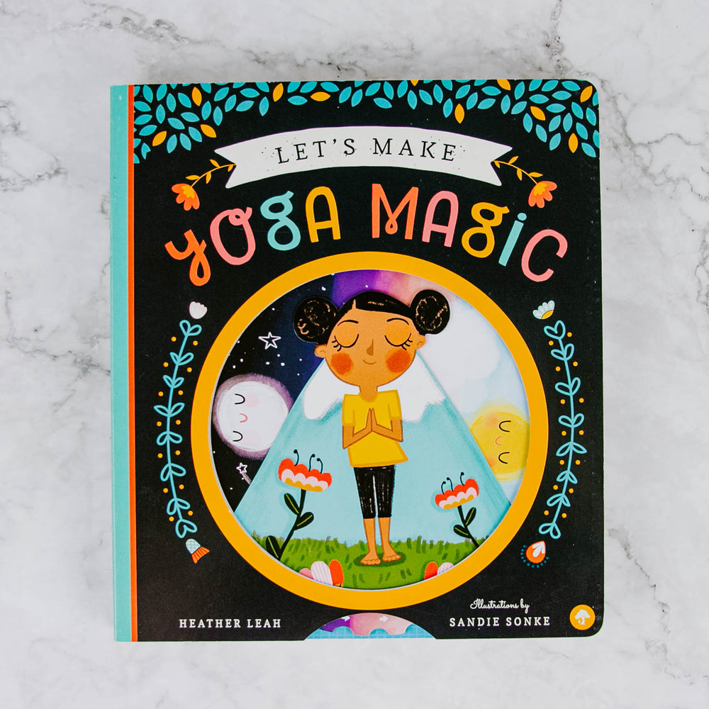 Let's Make Yoga Magic Book