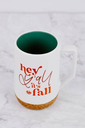 Load image into Gallery viewer, Hey Y'all It's Fall Mug