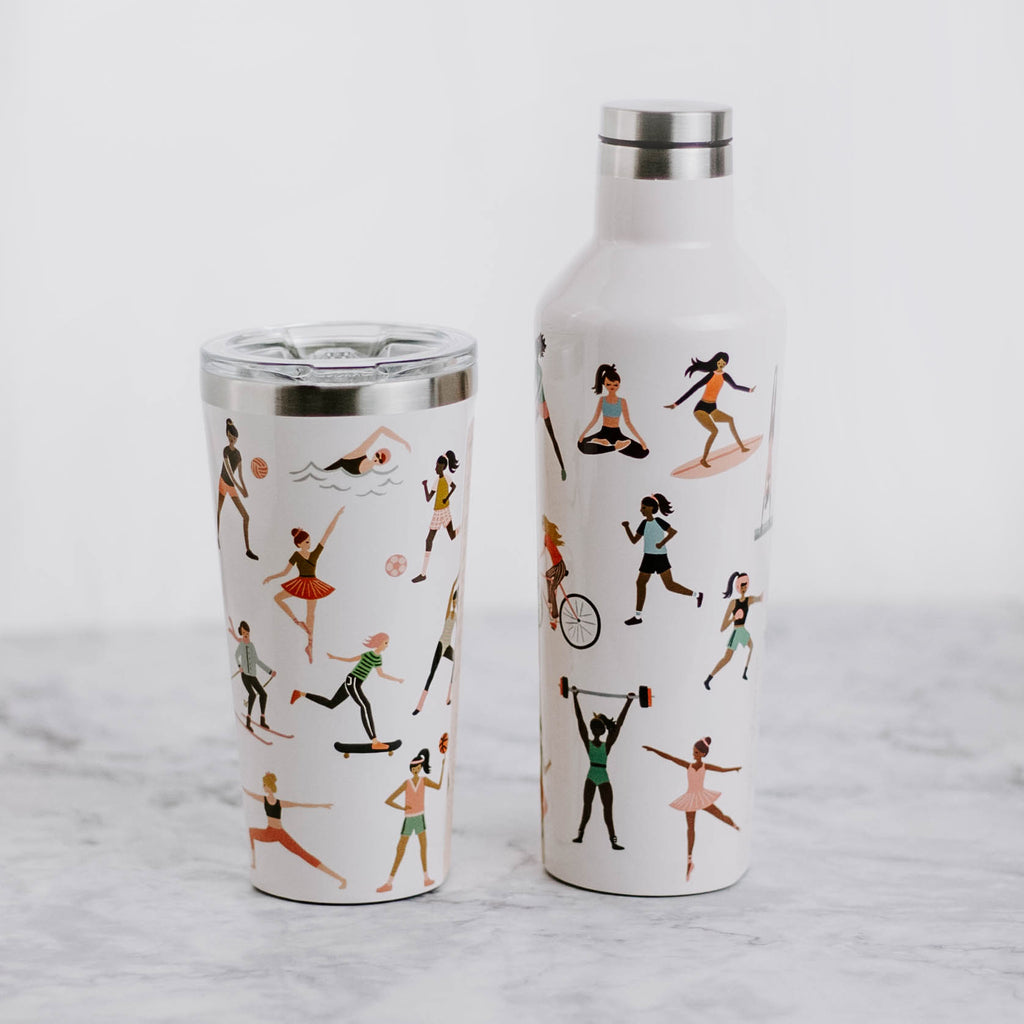 Sports Girls Tumbler & Canteen
