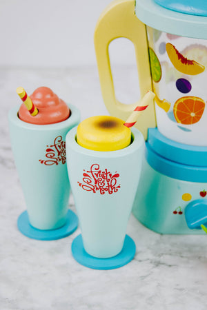 Kid's Wooden Blender Set