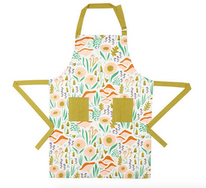 Illustrated Cotton Apron