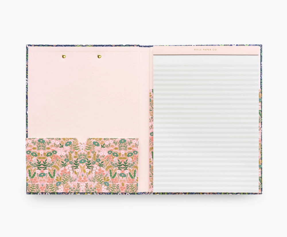 Load image into Gallery viewer, Floral Clipfolio