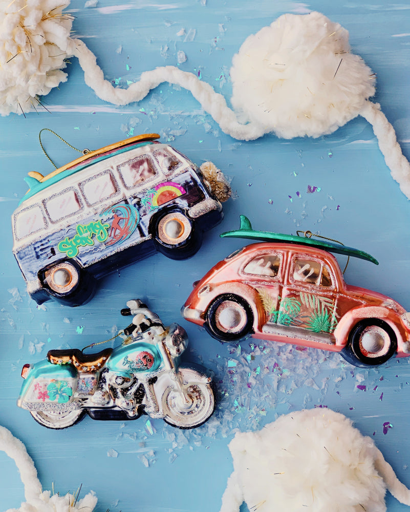 Beach Vehicle Ornament