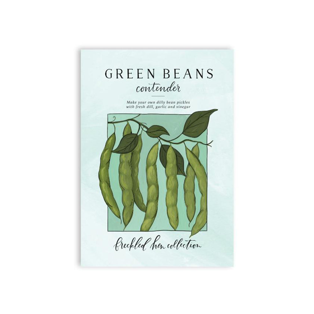 Freckled Hen Green Bean Seeds