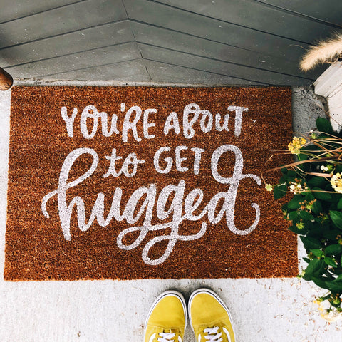 Hugged Door Mat