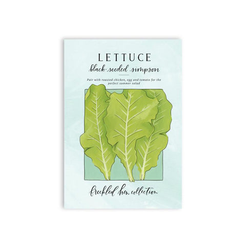 Freckled Hen Lettuce Seeds