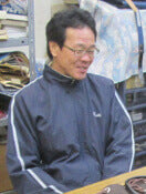 Workshop Manager, Mr Hashizume