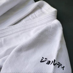 Embroidery on Left Sleeve