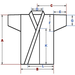 Detailed measurements for Kendogi Classic Cut