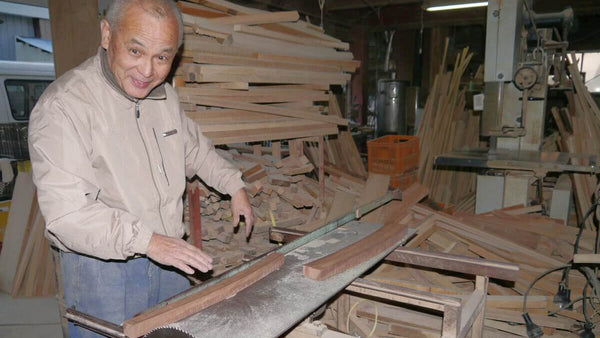Master Nidome Yoshiaki - Manufacture of Japanese traditional Bokken