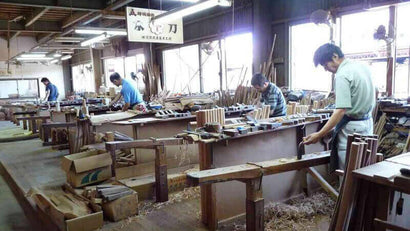 Manufacture of the Bokken - Aramaki workshop