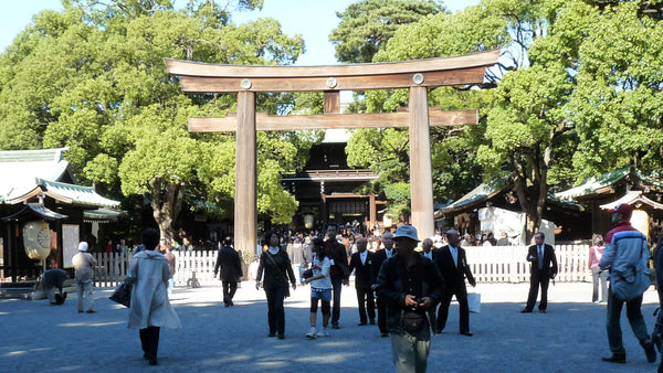 Entrance of the Meiji Jingu Shrine
