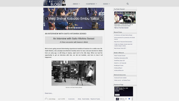 Seido's Wordpress Blog