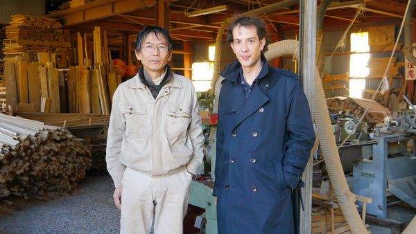 Horinouchi and Jordy Delage, Seido's founder, in 2013