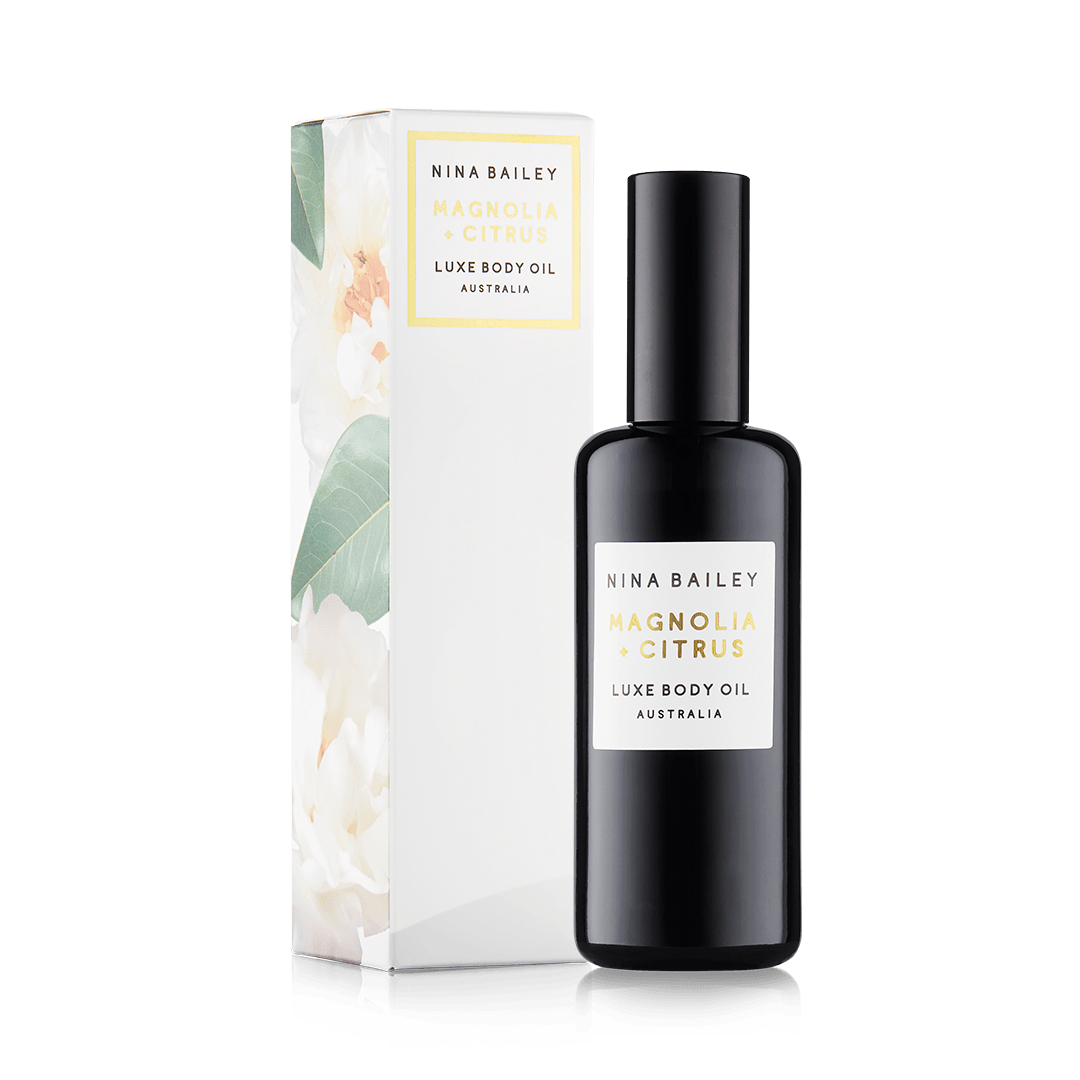 Citrus & Magnolia Luxe Body Oil - Nina Bailey