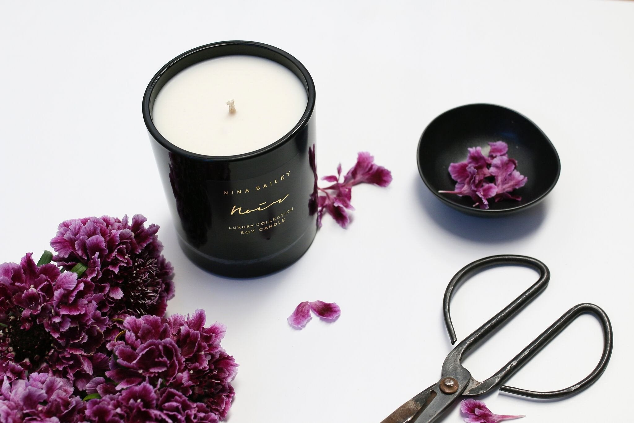 Noir Oxford Soy Candle - Nina Bailey