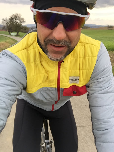 Test Winterjacke Café du Cycliste, Albertine
