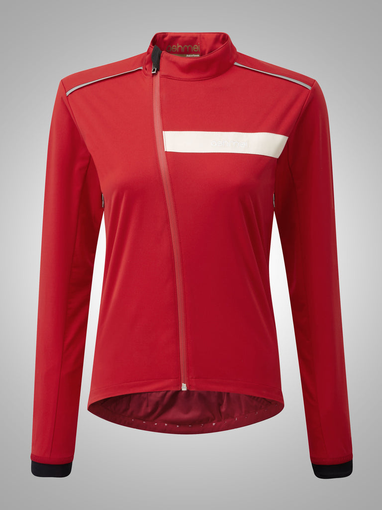 Ashmei Women's Ultimate Softshell Jacket, rot - Kaufen bei Maison Cyclo