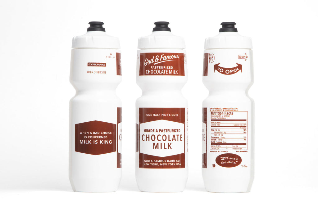 Godandfamous Chocolate Milk Bottle - Kaufen bei Maison Cyclo