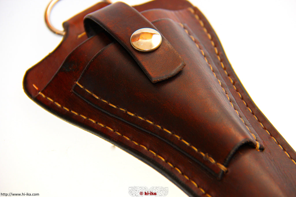 Leather Pouch (Pliers/Scissors) - hī-ika