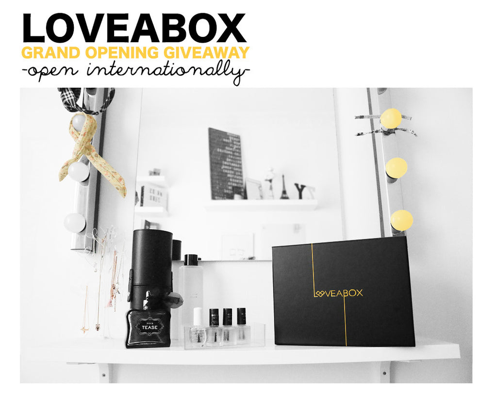 LOVEABOX GRAND OPENING GIVEAWAY
