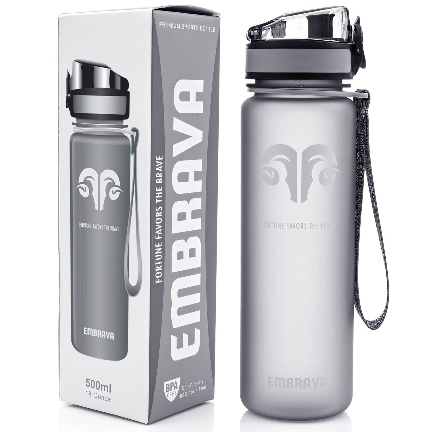 Best Sports Water Bottle - 18oz
