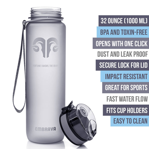 Best Sports Water Bottle - 32oz