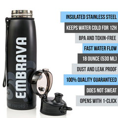 Stainless Steel Water Bottle - 18oz