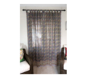Block Print Curtain