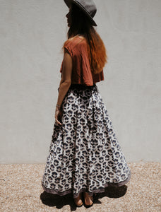 Full and Fabulous Skirt: Cloudy Day