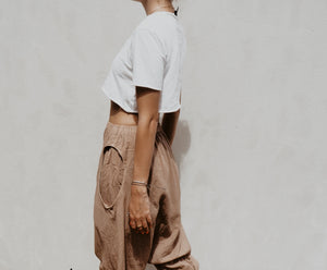 Oval Pocket Pants