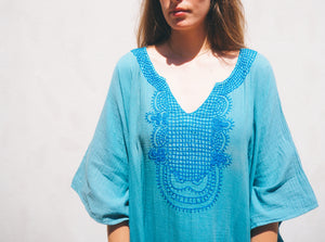 The Boho Babe: Blue