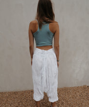 Load image into Gallery viewer, Turkish pants: white